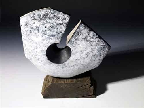 Sculpture - Recumbent Form by Daniel Kavanagh