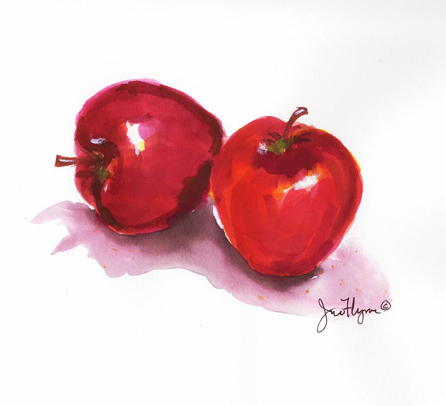 Red Apples by James Flynn