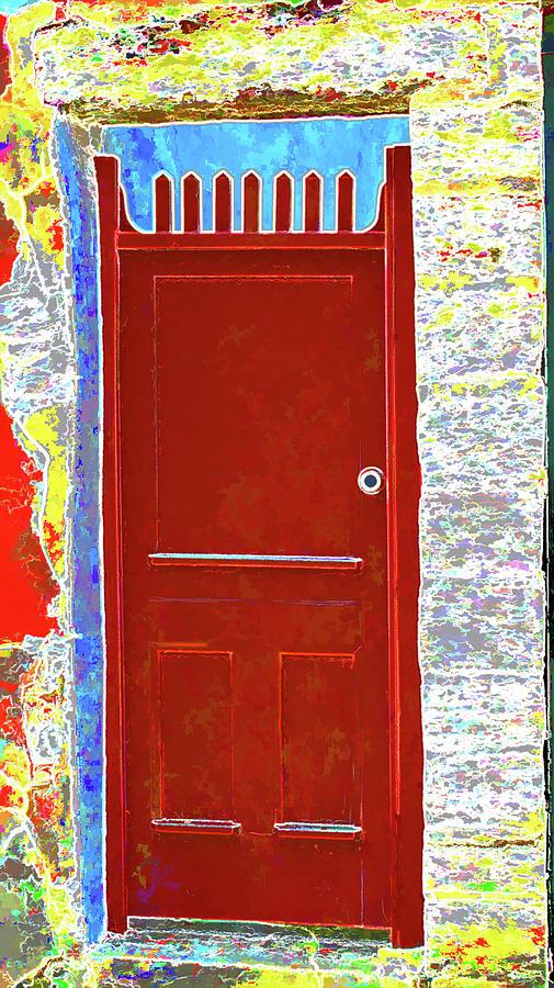 Door Photograph - Red Door by Dulce Levitz