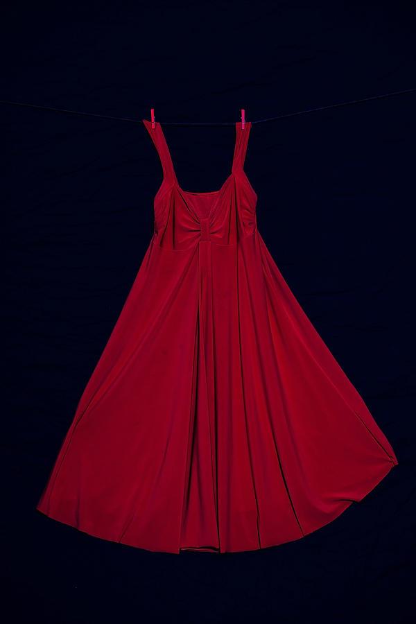 Dress Photograph - Red Dress by Joana Kruse