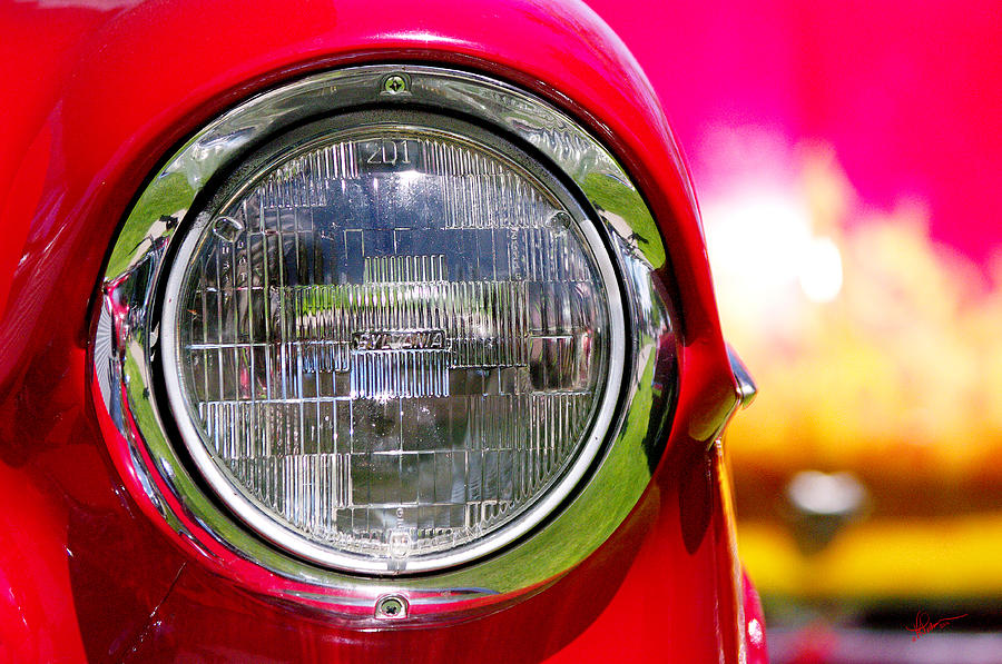 Car Show Photograph - Red Hot by Vicki Pelham