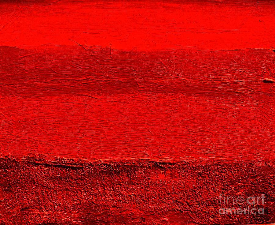 Mixed Media Digital Art - Red Ll by Marsha Heiken
