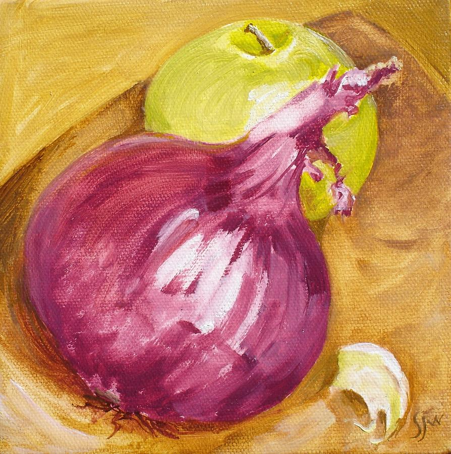 Image result for onion apple paintings