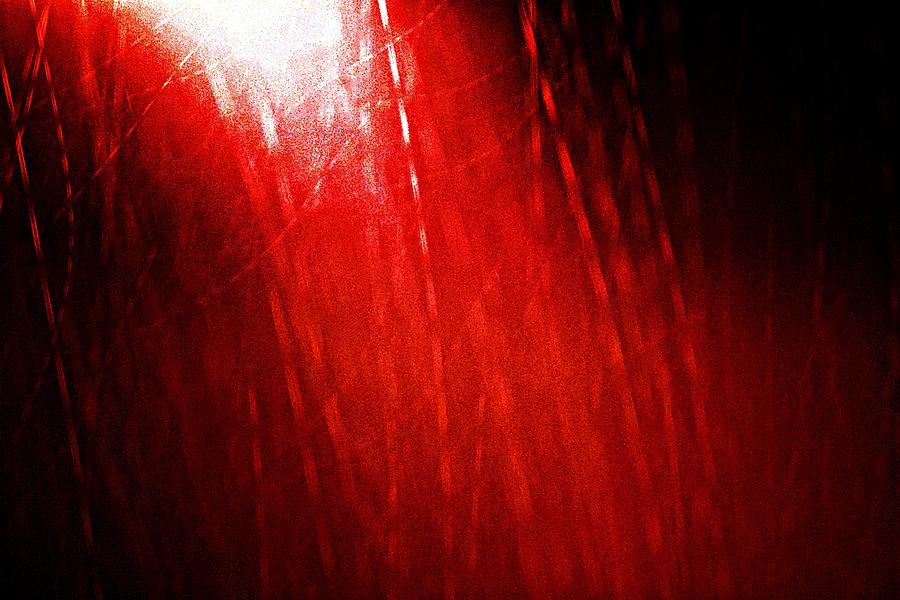 Outdoors Photograph - Red Rain 2 by Sandro Ramani
