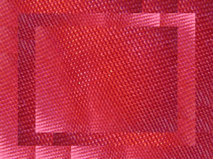 Abstract Digital Art - Red Riding Hood 2 by Tim Allen