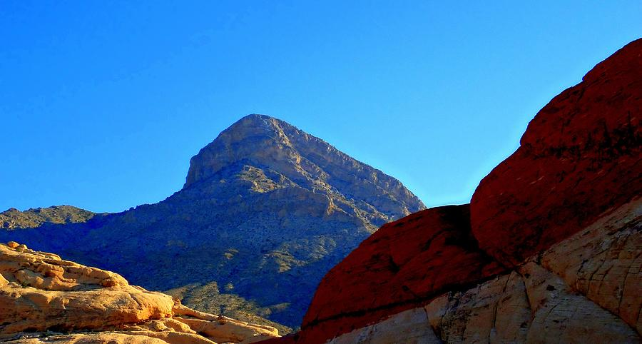 Landscape Photograph - Red Rock Canyon 24 by Randall Weidner