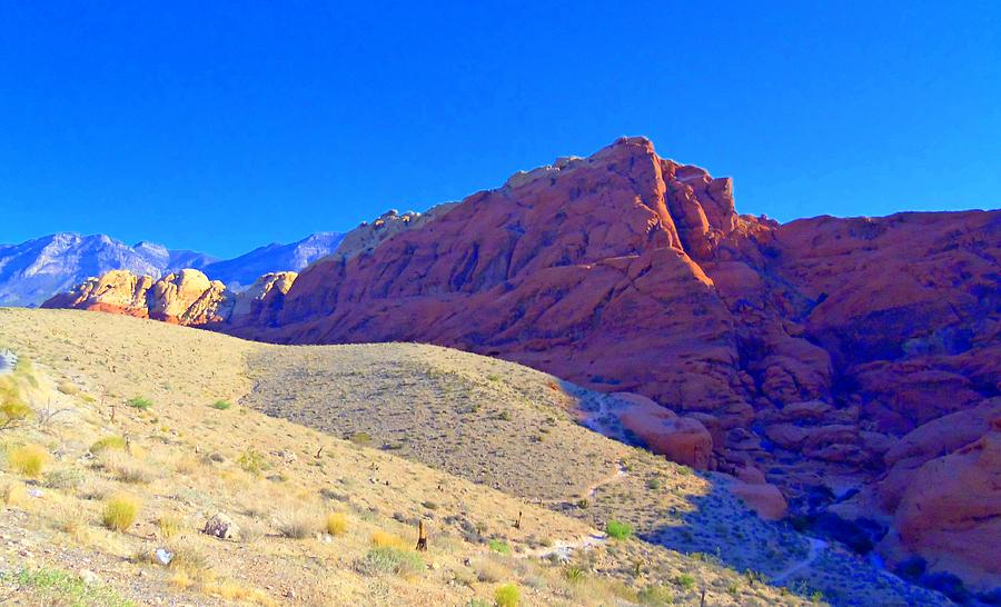 Landscape Photograph - Red Rock Canyon 4 by Randall Weidner