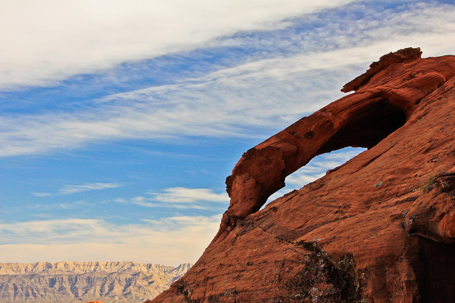 Valley Of Fire Photograph - Red Rock  by Kaye Seaboch