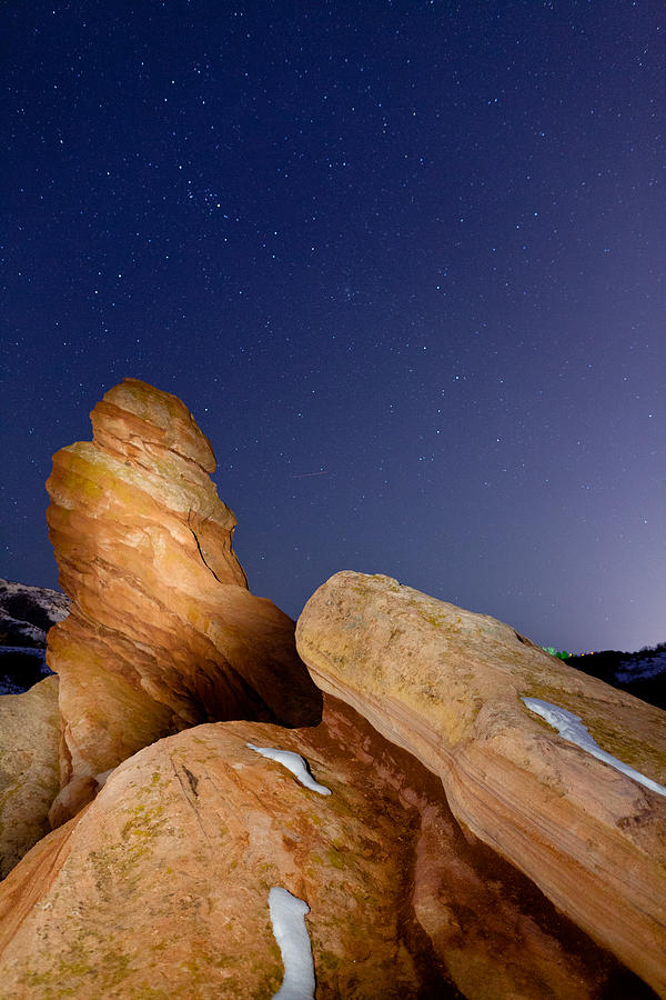 Red Rocks Photograph - Red Rock Stars by Adam Pender
