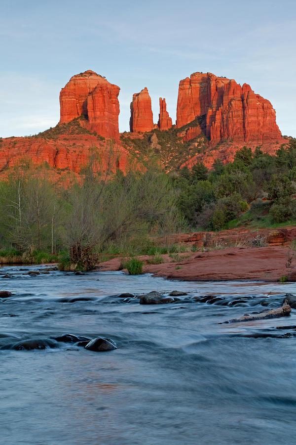 Oak Creek Photograph - Red Rock Sunset by Sandy Sisti