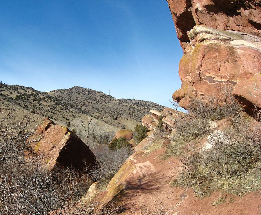 Red Rocks Photograph - Red Rocks Park Colorado by Gretchen Wrede