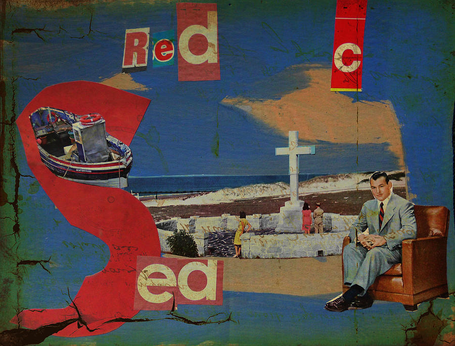 Red Sea Mixed Media - Red Sea by Adam Kissel