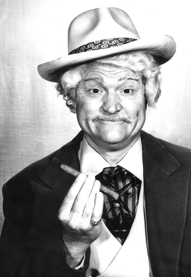 Cigar Photograph - Red Skelton Show, The, Red Skelton by Everett