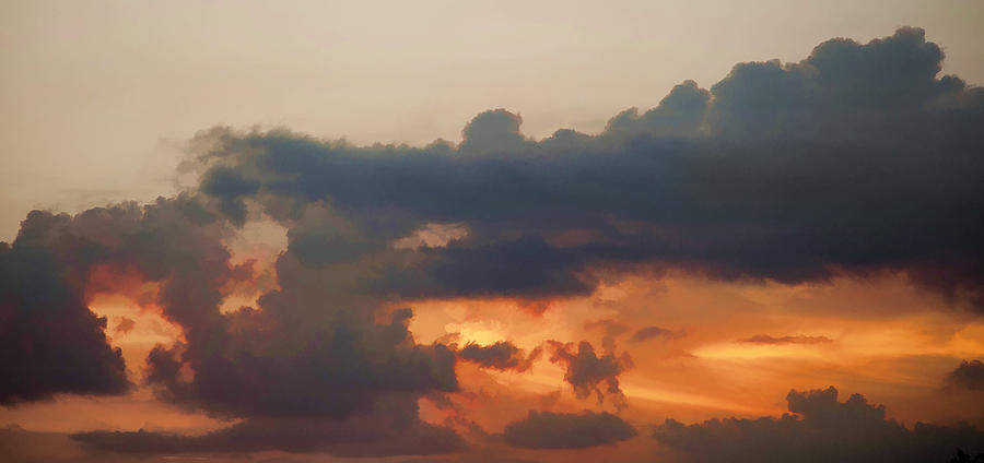 Red Photograph - Red Sky At Night by John Crothers