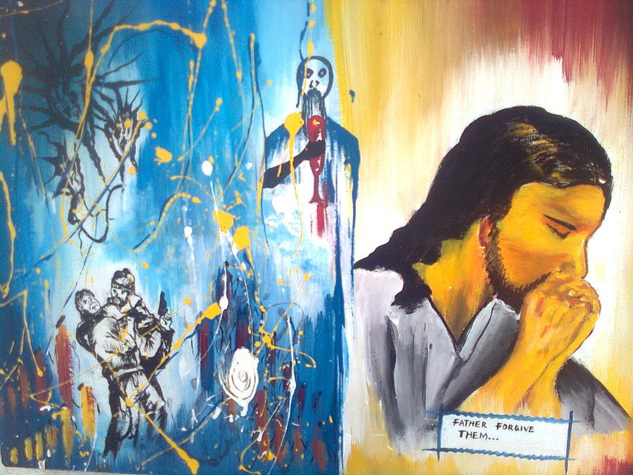 Redemption Painting by Kchris Osuji