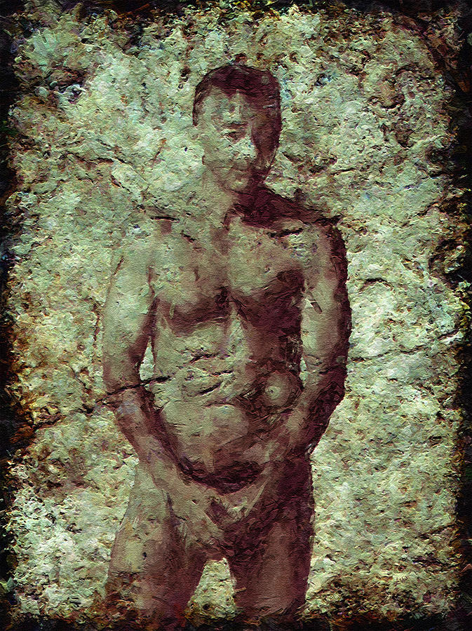 Male Photograph - Redemption by Kurt Van Wagner