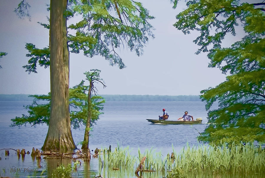 Reelfoot Lake Fishing by Bonnie Willis