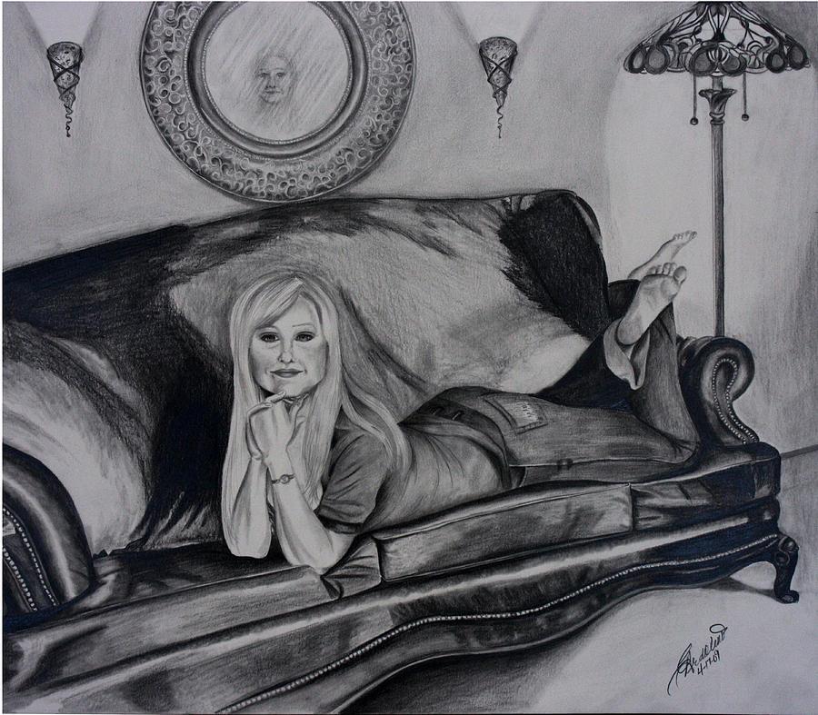 Reflection Drawing by Carolyn Ardolino