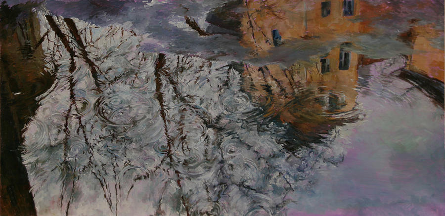 Reflection Painting - Reflection by Khadzhi-Murad Alikhanov