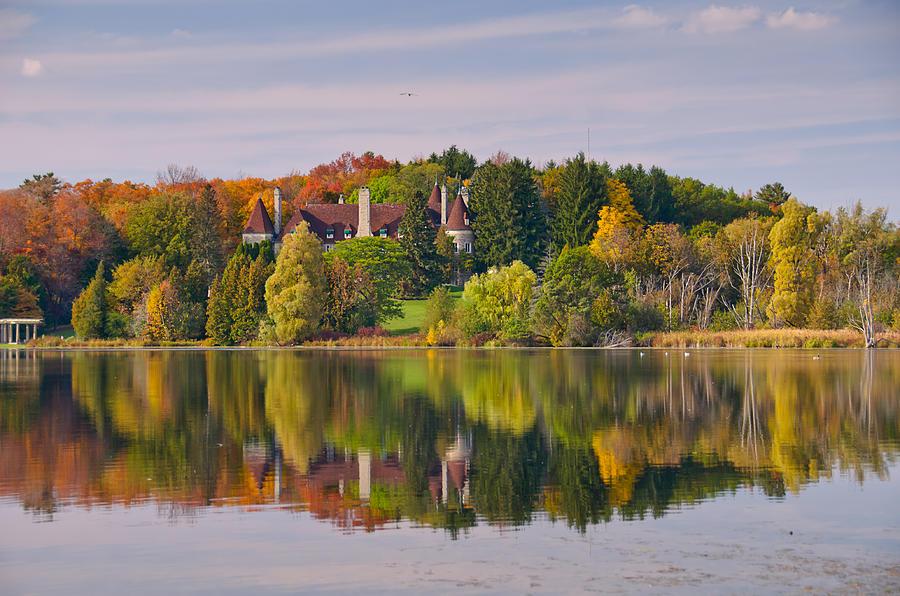 Landscape Photograph - Reflection by Luba Citrin