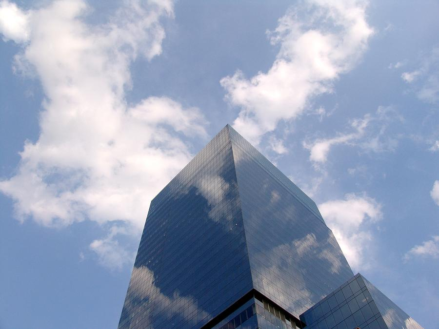 Reflections Of Commerce Sky Photograph