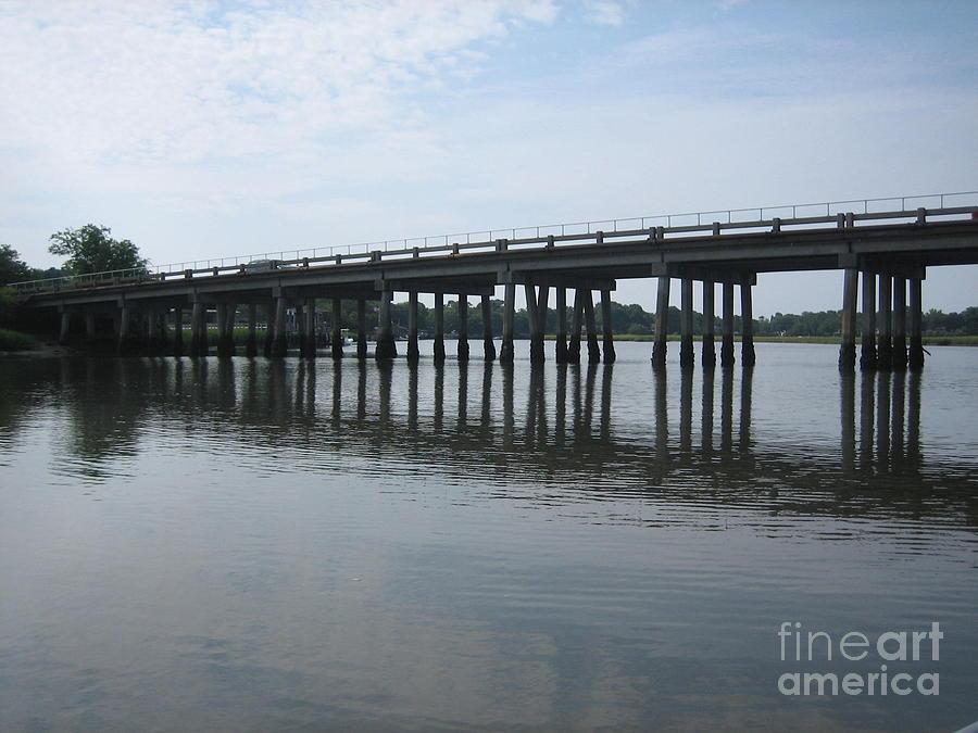 Charleston Photograph - Reflections by Blanche Knake
