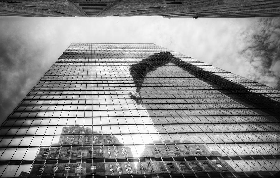 Freedom Tower Photograph - Reflections Of Freedom by Vicki Jauron