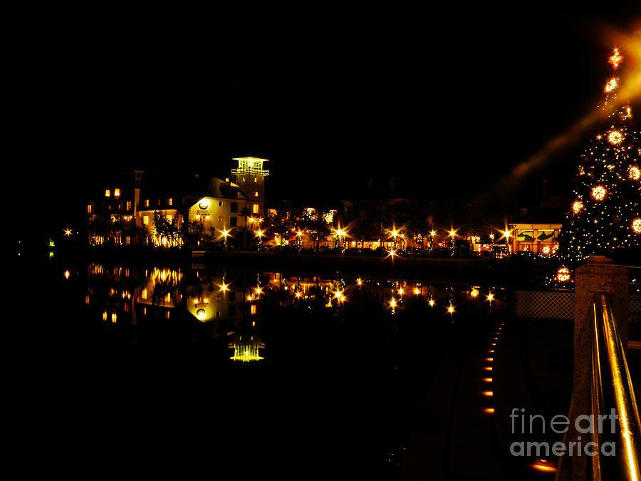 Lake Photograph - Reflections Of Night by Becky Wanamaker