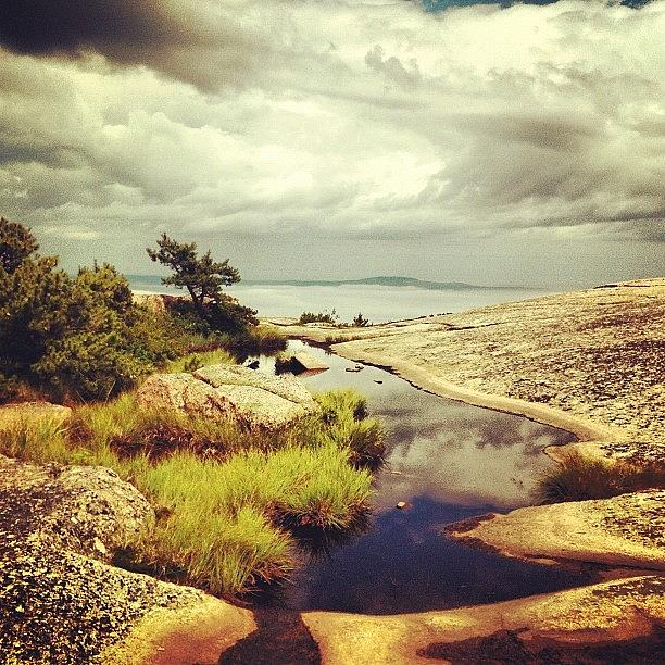 Beautiful Photograph - Reflections On Champlain Mt. #maine by Luke Kingma