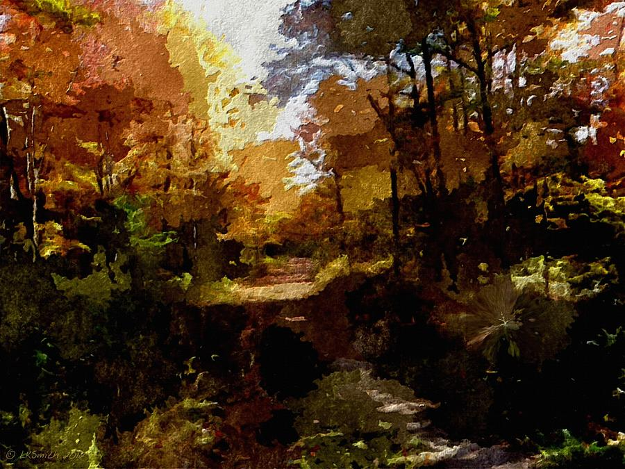 Landscape Painting - Refuge by Lynda K Cole-Smith