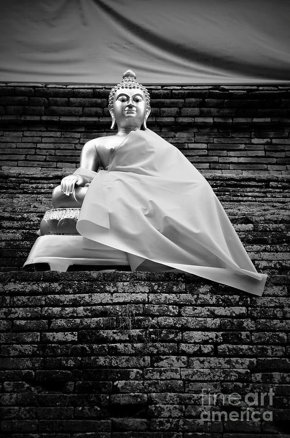 Buddha Photograph - Regal by Dean Harte