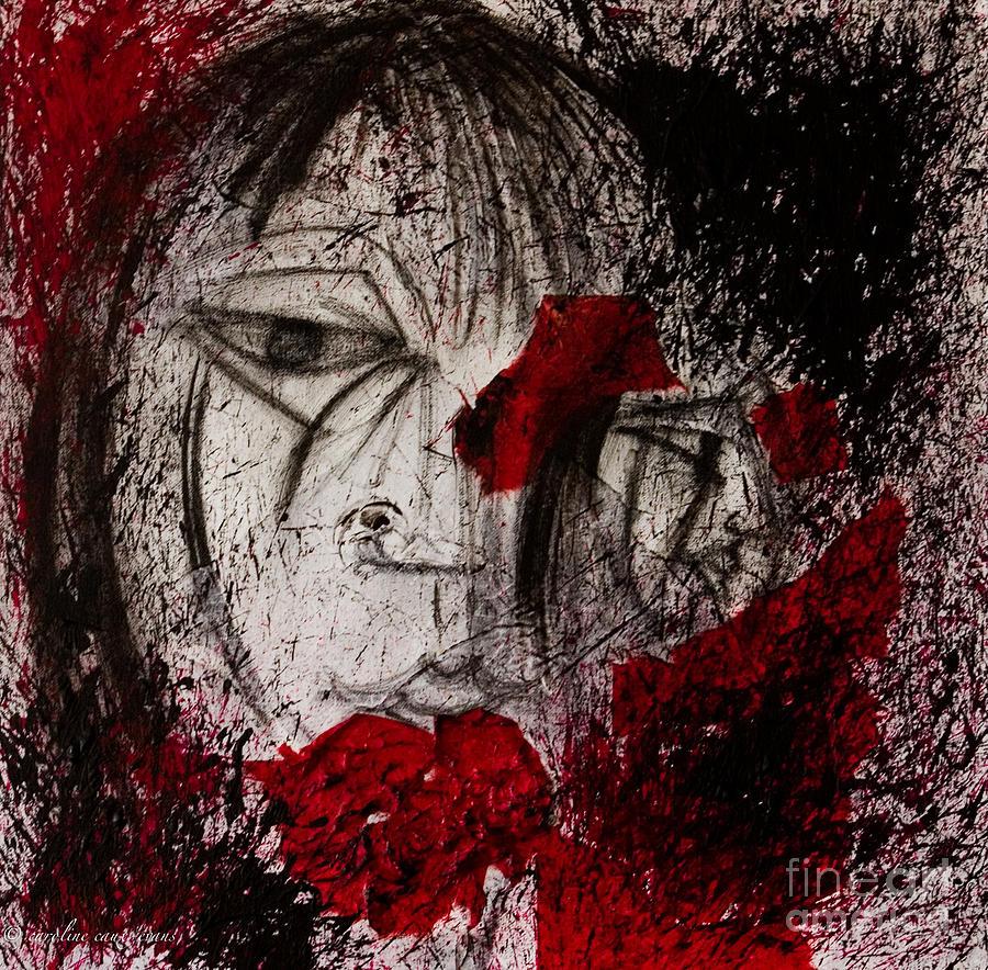 Femme Painting - Regards De Femme by Karo Evans