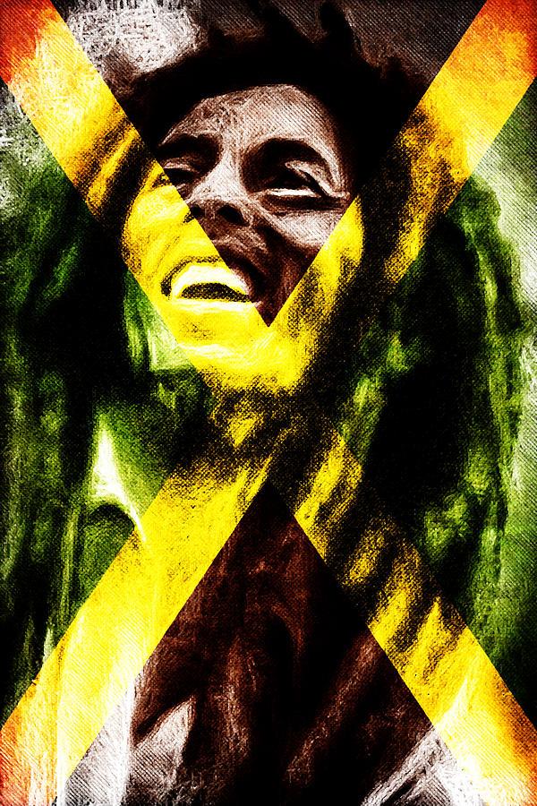 Reggae King Digital Art By Andrea Barbieri