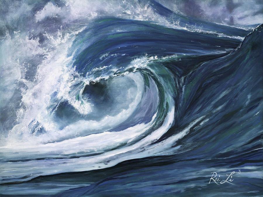 Hawaii Painting - Rei Li 3 by Lisa Reinhardt