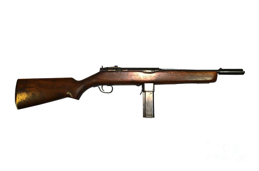 Reising M50 Submachine Gun Photograph By Andrew Chittock
