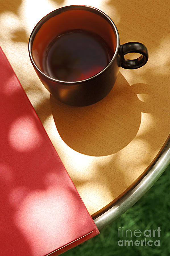 Tea Photograph - Relaxation by HD Connelly