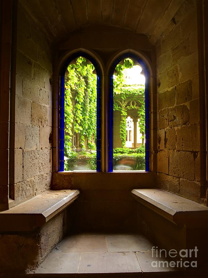 Window Photograph - Relaxing Corner by Alfredo Rodriguez