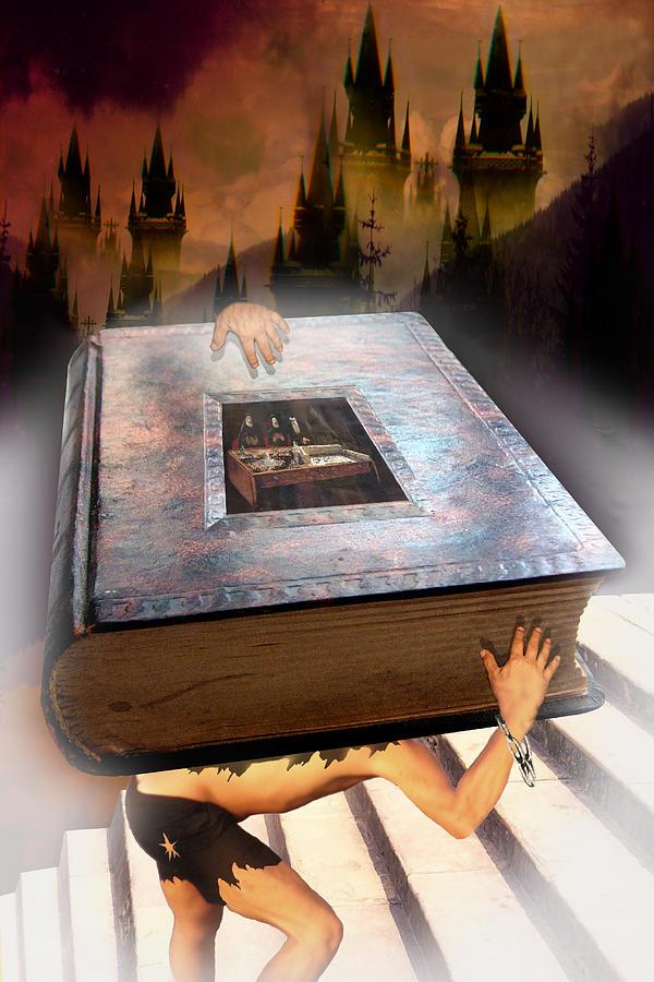 Book Digital Art - Religion by E  Kraizberg