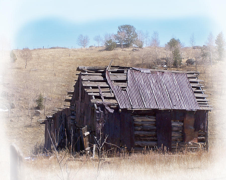 Old Buildings Photograph - Remember When by Ernie Echols