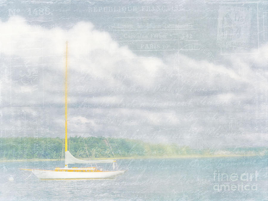 Sailboat Photograph - Remembering Ethereal Days by Cheryl Butler