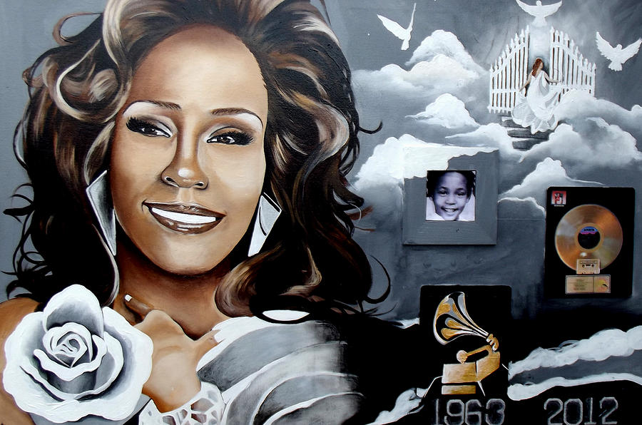 Oil Paintings Painting - Remembering Whitney by Alonzo Butler