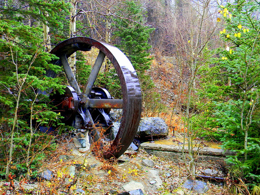 Mining Photograph - Remnants Of The Past by Jessica Duede