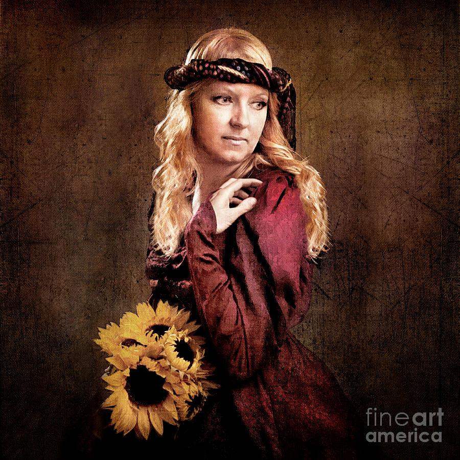 Painting Photograph - Renaissance Portrait by Cindy Singleton