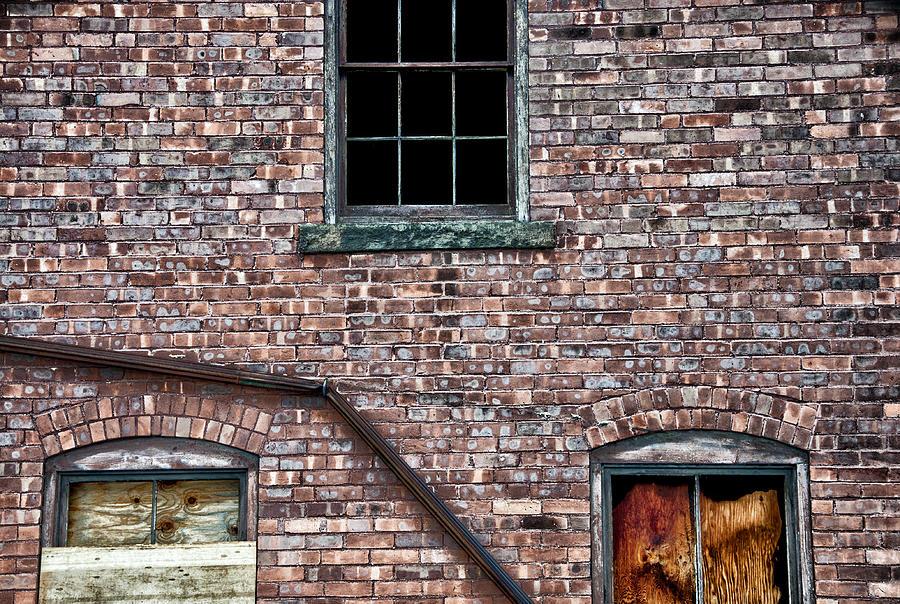 Bricks Photograph - Repairs Underway by Ross Powell