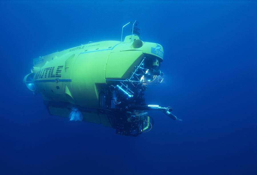 Ifremer Photograph - Research Submersible by Alexis Rosenfeld