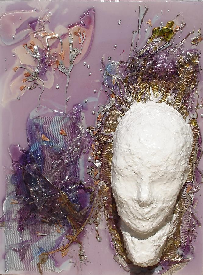 Contemporary Sculpture - Resin -energy Unleashed- by Lisa Kramer