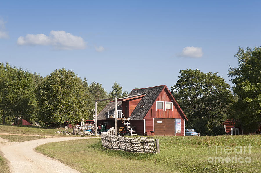 Architectural Detail Photograph - Resort Building In The Countryside by Jaak Nilson