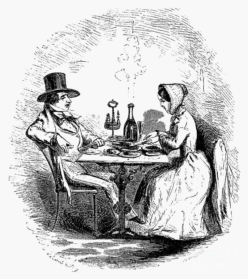19th Century Photograph - Restaurant, 19th Century by Granger