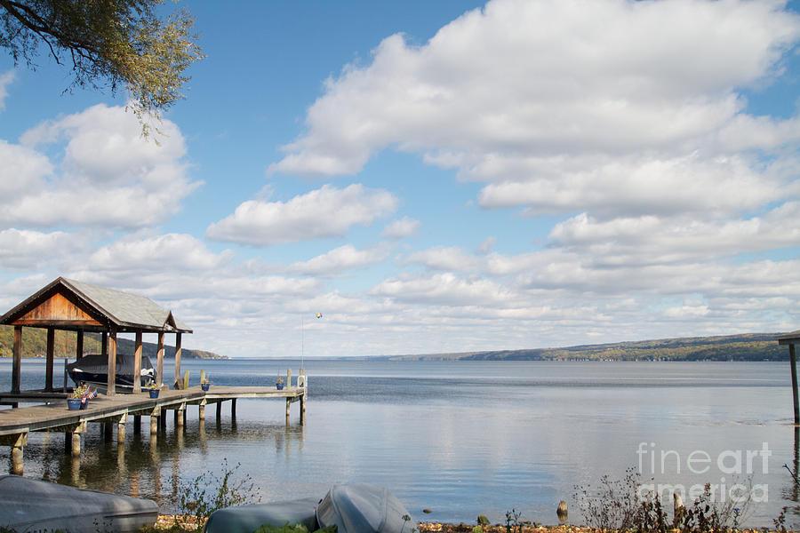 Seneca Lake Photograph - Resting Waters by William Norton