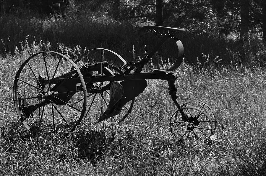 Abandoned Photograph - Retired Farmer by Ron Cline
